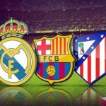 Liga: Real Madrid y Atleti aprovechan la derrota culé